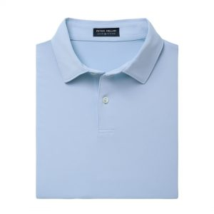 Peter Millar Solid Stretch Jersey – Waterfall