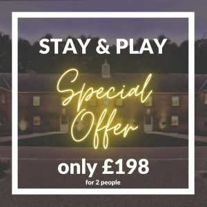 *** Special British Masters Offer *** STAY & PLAY For ONLY £198 For 2 People