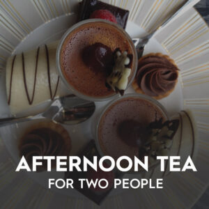 Afternoon Tea For 2 People