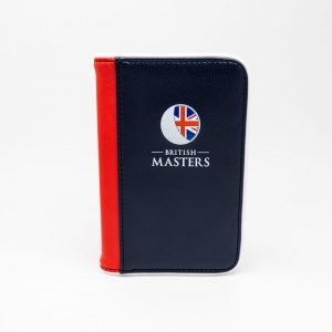 Britsh Masters Scorecard Holder
