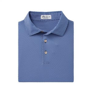 Peter Millar Pebbles Performance Polo- Navy/multi