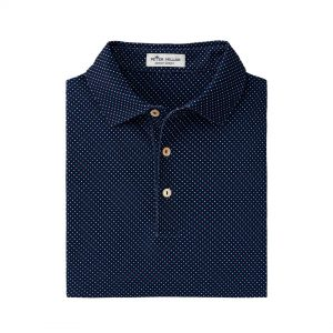 Peter Millar Beckana Performance Polo – Navy/multi