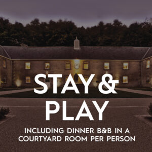Stay & Play Including Dinner B&B In A Courtyard Room Per Person