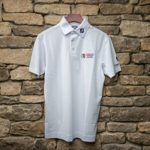 British Masters FJ Mens Polo White