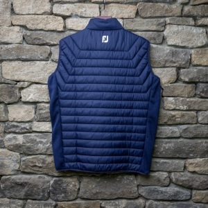 British Masters FJ Mens Quilted Gillet Blue