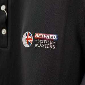 British Masters FJ Mens Polo Black
