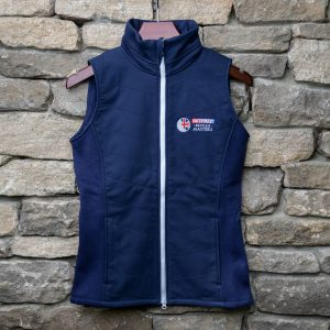 British Masters FJ Ladies Thermal Gillet Blue