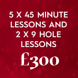 5 X 45 Minute And 2 X 9 Hole Playing Lessons